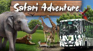 Pakej Percutian Taman Safari Malang Surabaya