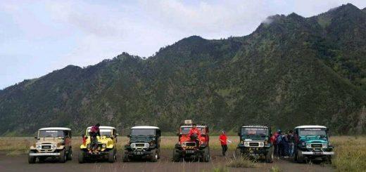 Pekhidmatan Sewa Kerata Jeep Gunung Bromo