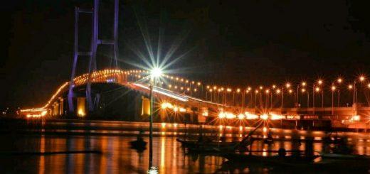 Cantiknya Suramadu Bridge Surabaya