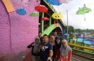 Kampung Pelangi di Malang Surabaya