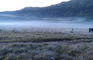 Cuaca Bromo Extrime, Sejuk Hingga 3 Celcius